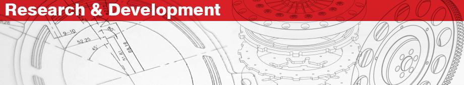 Reserach & Development header